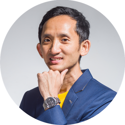 Yuan Tai, corporate trainer and founder of happy man club
