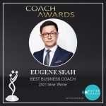 Eugene Seah Silver coach award